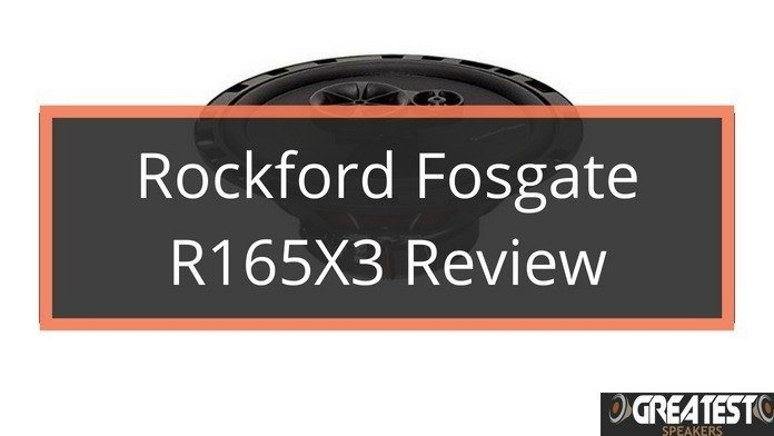 Rockford Fosgate R165X3 Car Speaker Review 4