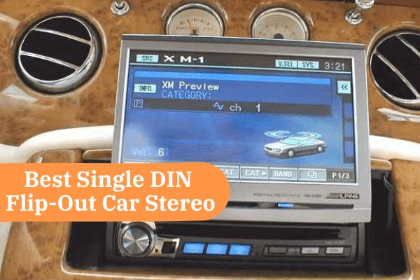 best single din flip out car stereo