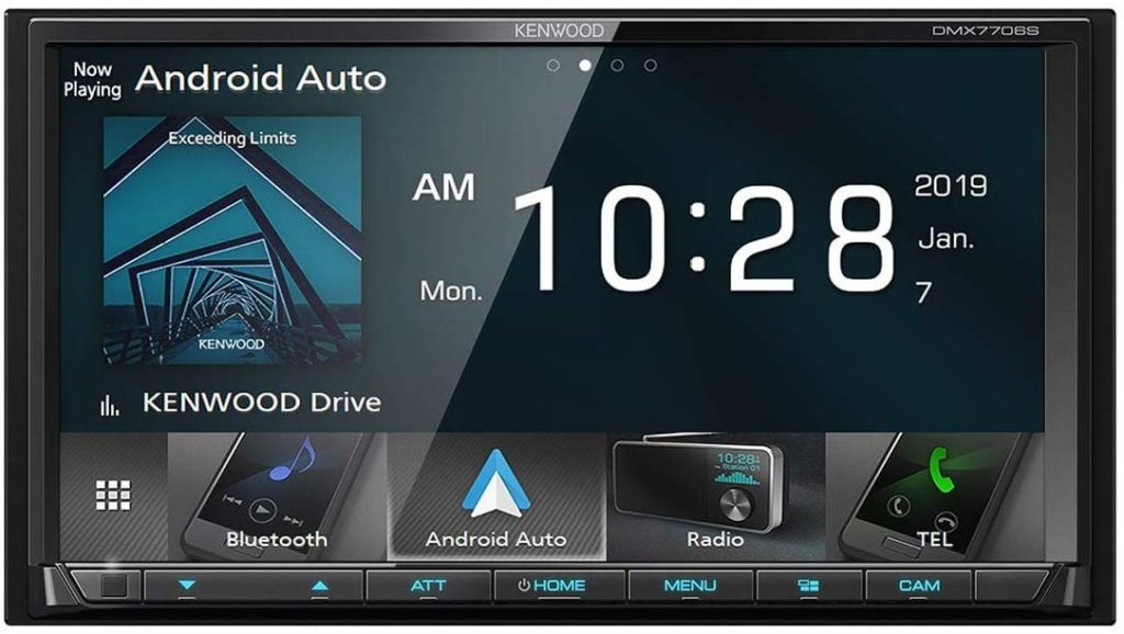 Kenwood DMX7706S head unit