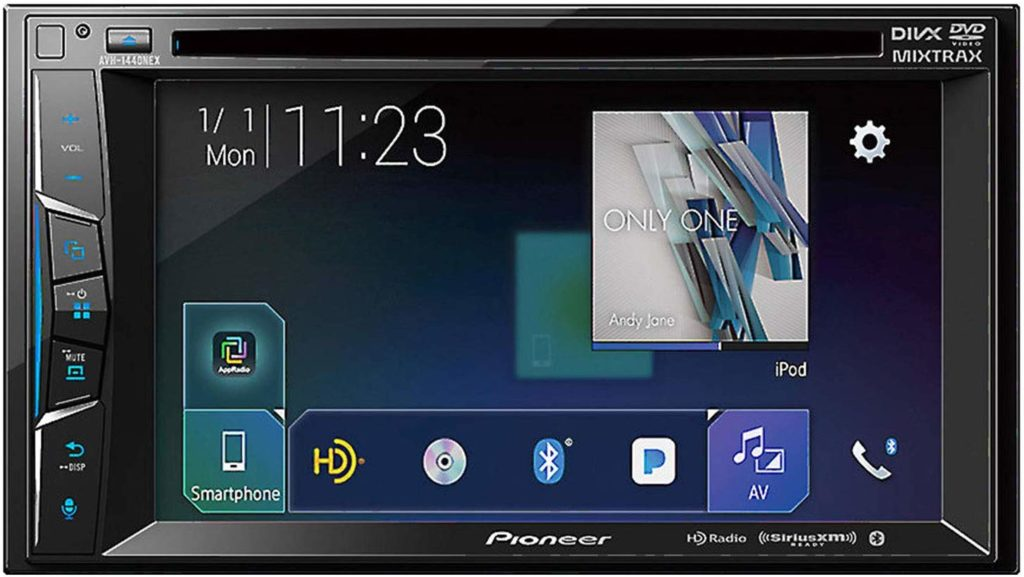 "Pioneer AVH-1440NEX 6.2"" Multimedia DVD Receiver Apple CarPlay, Bluetooth, HD Radio, SiriusXM"