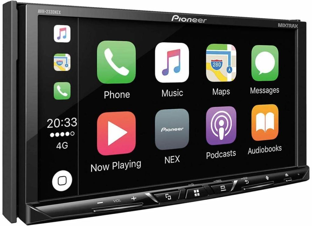 "Pioneer AVH-2300NEX Multimedia DVD Receiver with 7"" WVGA Display (Discontinued by Manufacturer)"