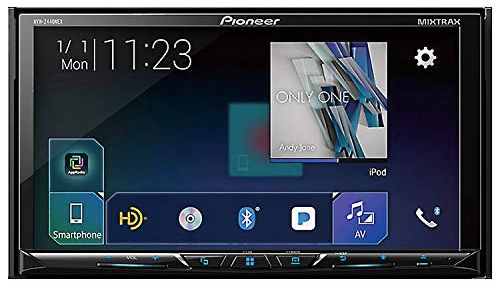 Pioneer AVH-2440NEX Car Stereo Double Din Radio with Apple CarPlay, Android Auto and Bluetooth review