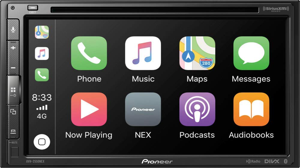 Pioneer AVH-2550NEX 7-Inch AV Receiver review w/CarPlay and AndroidAuto