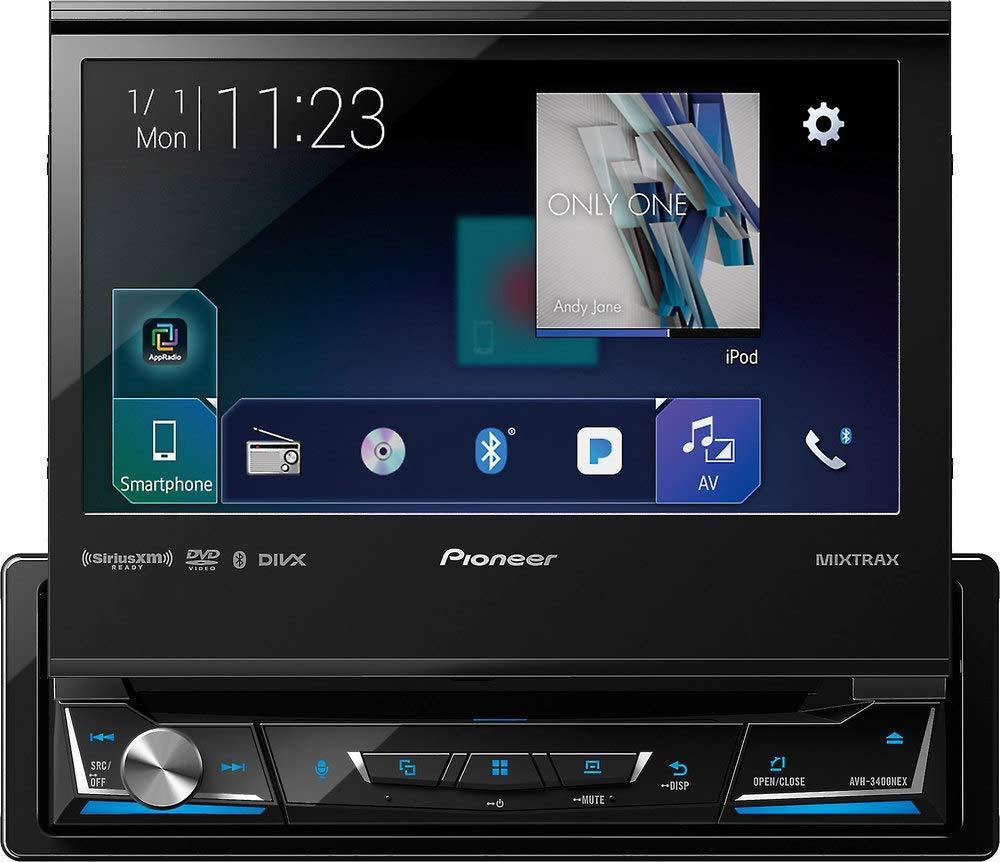 "Pioneer AVH-3400NEX 7"" Display Single-Din In-Dash NEX DVD Receiver review"