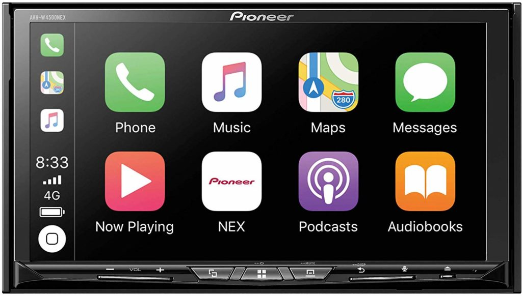 Pioneer AVH-W4500NEX Double Din Wireless Mirroring Android Auto, Apple Carplay in-Dash DVD/CD Car Stereo Receiver review