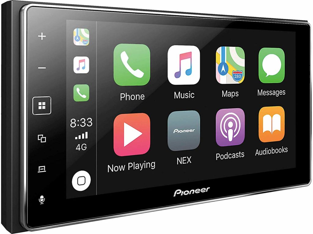 Pioneer MVH-1400NEX Digital Multimedia Video Receiver Apple CarPlay with Bluetooth review