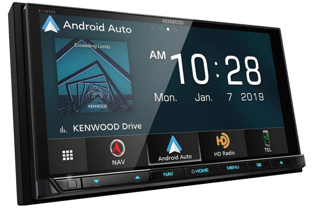 """Kenwood DNX996XR 6.8"""" DVD Navigation Receiver with Wireless CarPlay & Android Auto"""