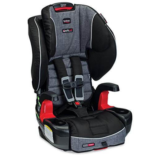 Britax Frontier Best Booster Car Seat With 5 Point Harness