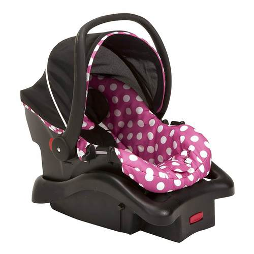 Disney Baby Minnie Mouse Light 'n Comfy 22 Luxe Infant Car Seat Review