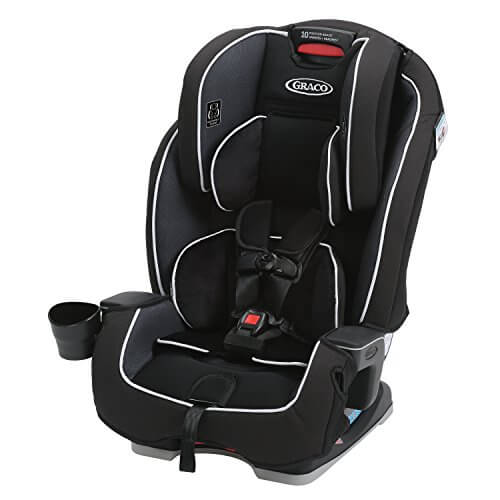Graco Milestone 3 in 1 Convertible Car Seat