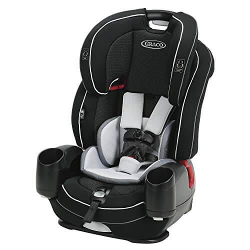 Graco Nautilus SnugLock LX Best Booster Car Seat With Harness