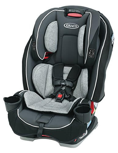 Graco SlimFit 3 in 1 Best Convertible Booster Car Seat