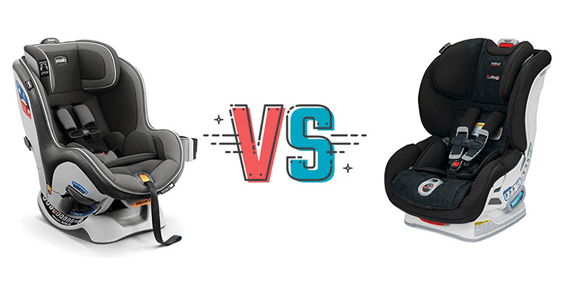 britax boulevard vs chicco nextfit comparison