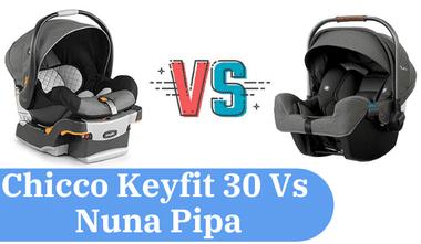 chicco keyfit 30 vs nuna pipa comparison