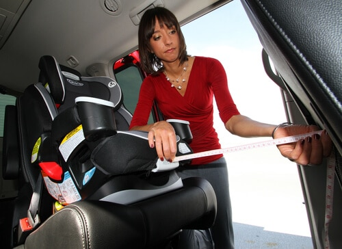 child car seat installation 2