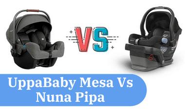 uppababy messa vs nuna pipa comparison