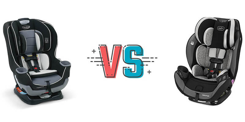 graco vs evenflo comparison